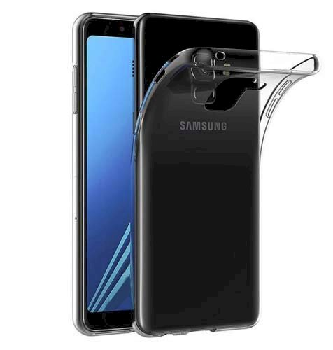 Herry Transparent Back Cover for Samsung Galaxy J8