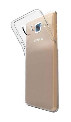 Herry Transparent Back Cover for Samsung Galaxy J7 Max (Soft & Flexible Back Cover)