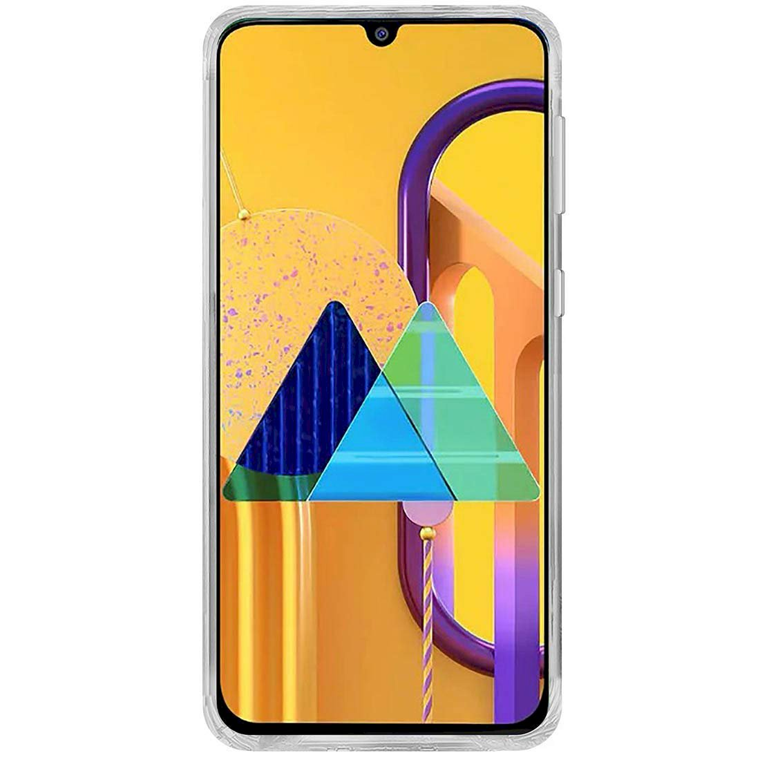 Silicon Flexible Transparent TPU Back Case Cover for Samsung Galaxy M31