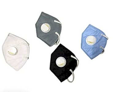 5 Layer Multi Colors Unisex Assorted Anti Pollution Reusable FFP2 Face Mask