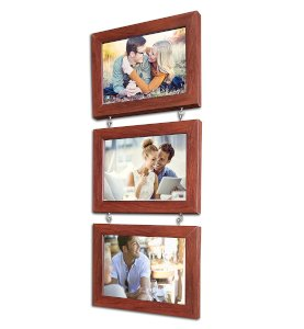 Hanging Photo Frame Impressive Chain Drop- Set of 3