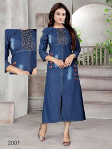 Diya2001 Denim Gown  Collection