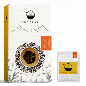 Ono Teas Masala Chai (100 Teabags | 100% Natural) with Black Tea | May Help with Heart Health, Improves Immunity