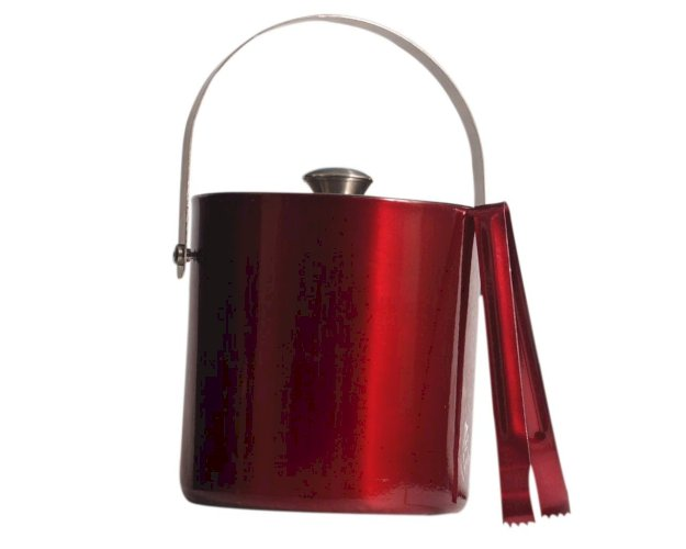 Eversteel Stainless Steel Double Walled,Insulated Ice Bucket with Tong, 1600ml