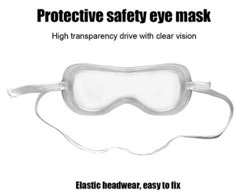 Protective Anti fog Goggles (Pack of 2)