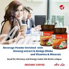 ArtLife Energy Coffee (with Ginseng Extract, Vitamins & Minerals) (Pack of 2,   300 grams each )