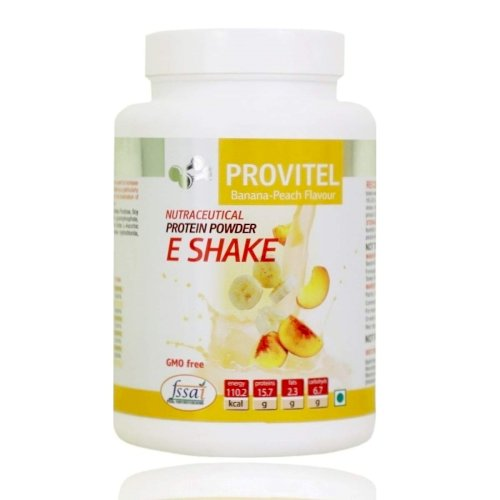 ArtLife Protein Powder (E Shake) -  (Helpful in Enhancing Sport Training Efficiency, Improvement of Physical Fitness, ​Helps to Gain Muscle Mass, Maintain High Level of Energy) (500 grams) - Pleasant Banana-Peach Flavour,