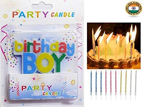 Best Deals Birthday Candle with Free Magic Candles Set